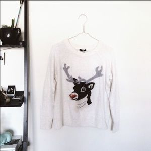 H&M Reindeer Sweater